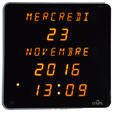 CEP Horloge LED jaune 11101