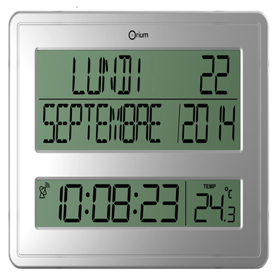 CEP Horloge digitale calendrier RC 11891