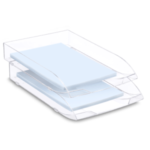 CEP Letter tray 147-2 cristal