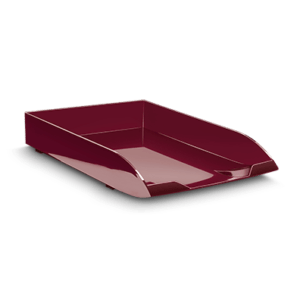 CEP Letter tray 147-2 rouge grenat