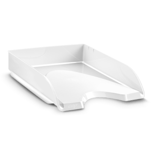 CEP Letter tray 200+ white gloss