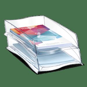 CEP Corbeille à courrier 300 cristal