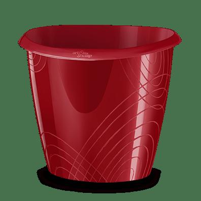 CEP Waste bin 6200 carmin red origins