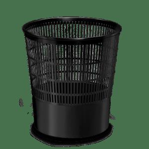 CEP Corbeille à papier 237F noir