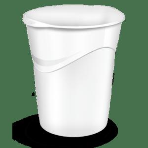 CEP Corbeille à papier 280G blanc arctique