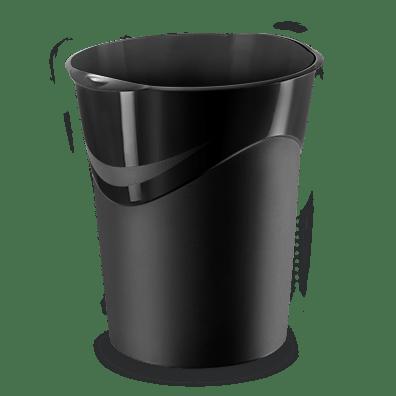 CEP Corbeille à papier 280R noir