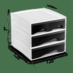 CEP Mini module de rangement MyCube petits tiroirs grands tiroirs 3-211