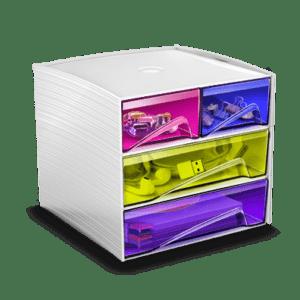 CEP Mini module de rangement MyCube petits tiroirs grands tiroirs 3-211 HM