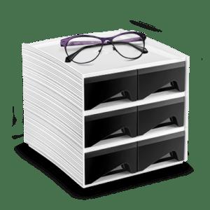 CEP Mini module de rangement MyCube petits tiroirs 3-222