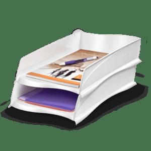 CEP Corbeille à courrier 300X blanc