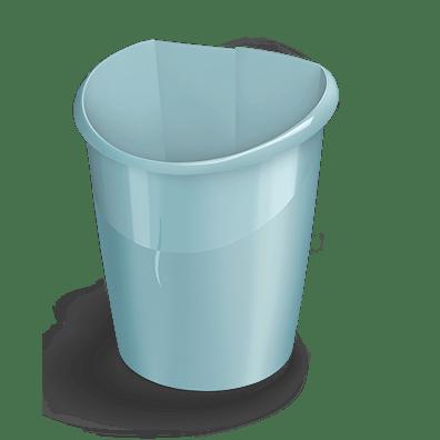 CEP Corbeille à papier 320X vert d'eau