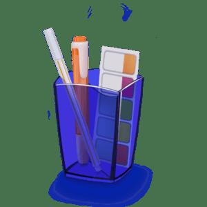 CEP Pot à crayons Happy 530 H