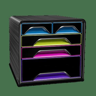 CEP Smoove 7-213G noir multicolore subtil gloss