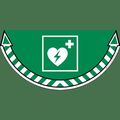 CEP Sticker DAE Défibrillateur Automatique Externe 7010-10