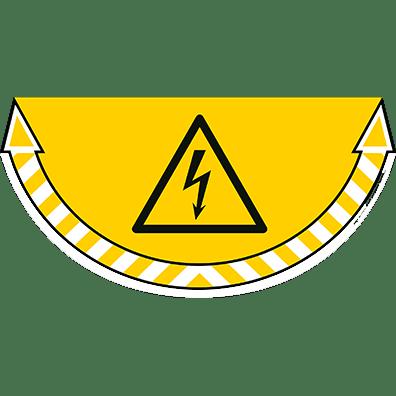 CEP Sticker Danger électrique 7010-15