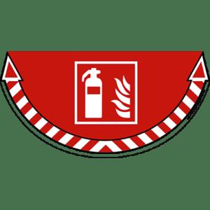 CEP Sticker Lutte Incendie Extincteur 7010-18