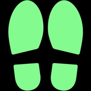 CEP Jeu de empreintes de pas 7010-221