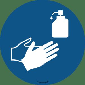 CEP Sticker pour sol Désinfection des mains obligatoire 7010-814